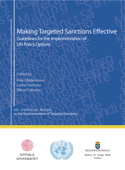 Making Targeted Sanctions Effective Guidelines for the implementation of UN Policy Options