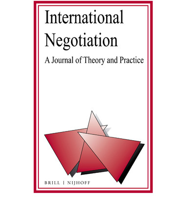 Journal: International Negotitation