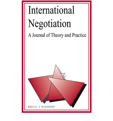 International Negotiation Journal